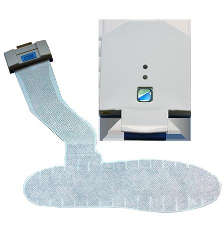 Medilogic Einlegesohlen zur Fußdruckmessung mit Transmitter