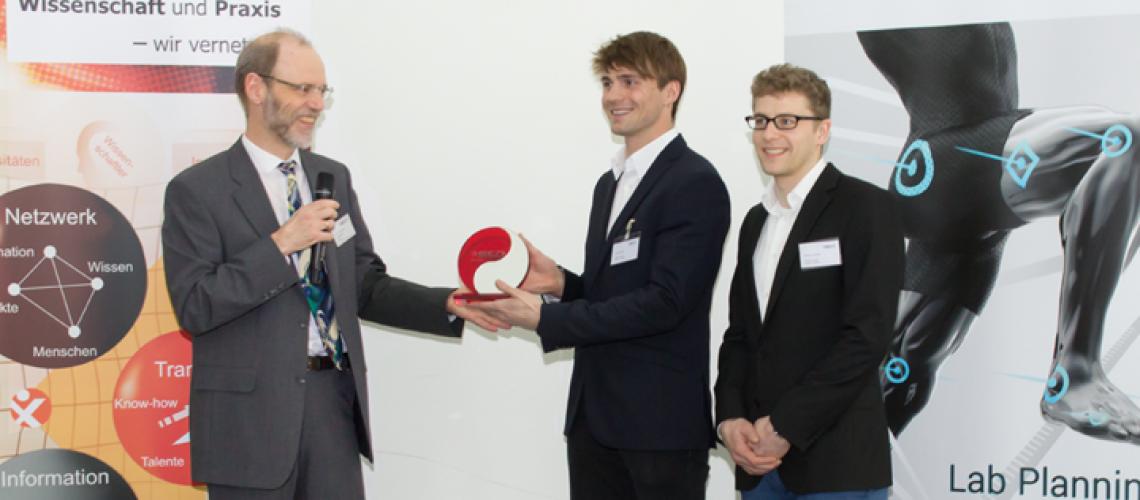 Verleihung des Ergonomie Preises an Velamed