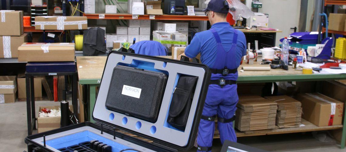 Arbeitsplatzanalyse Portable Lab