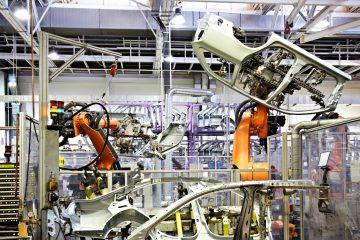 Robotik-Autofabrik