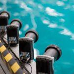 Qualisys Oqus Kamera Installation an Pool