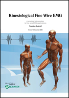 Cover of kinesiological Fine Wire EMG booklets