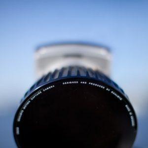 Frontansicht Oqus Kamera Sensor